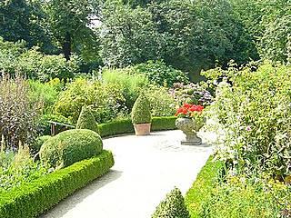 Barocker Herrschaftsgarten im Botanischen Garten Braunschweig. © Mattes