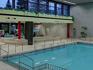 Schwimmhalle im Stadtbad Lankwitz. © Berliner Bäder-Betriebe