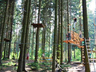 Kletterwald Pöhl